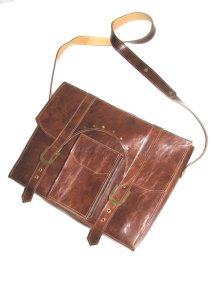 brown mens briefcase